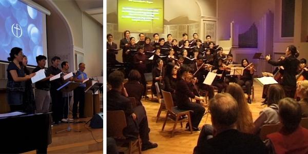 Freie evangelische Gemeinde Wuppertal Barmen - Musik Koreaner