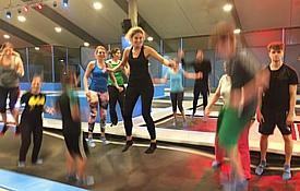 Freie evangelische Gemeinde Wuppertal Barmen - Sport Trampolinspringen