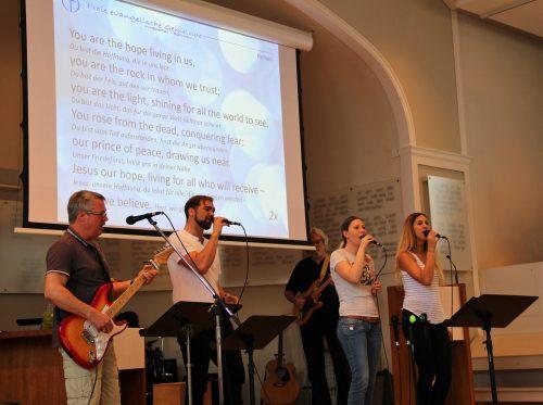 Freie evangelische Gemeinde Wuppertal Barmen - Gemeindeband Blessed Friends