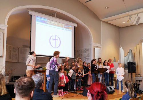 Freie evangelische Gemeinde Wuppertal Barmen - Familiengottesdienst