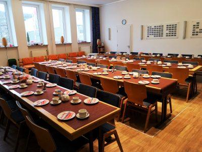 Freie evangelische Gemeinde Wuppertal Barmen - Frühstück vor dem Gottesdienst