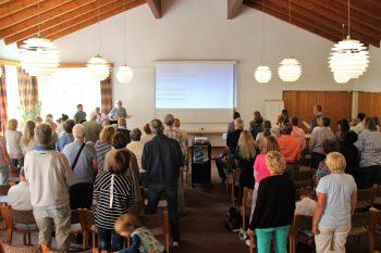 Freie evangelische Gemeinde Wuppertal Barmen - Ausflug Bundeshöhe Gottesdienst