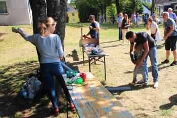 Freie evangelische Gemeinde Wuppertal Barmen - Ausflug Bundeshöhe Freigelände