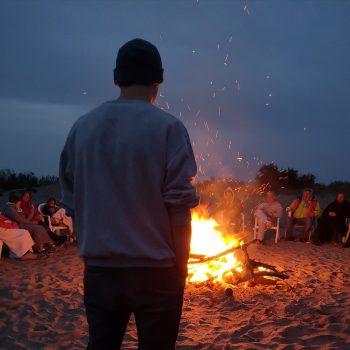 Freie evangelische Gemeinde Wuppertal Barmen - Urlaub Südfrankreich Abend am Strand
