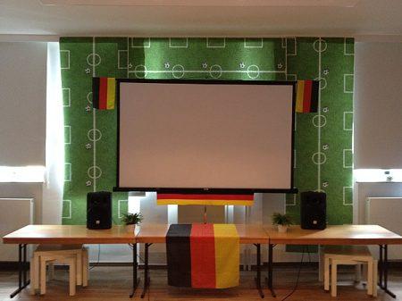 Freie evangelische Gemeinde Wuppertal Barmen - Sport Fußball Public Private Viewing