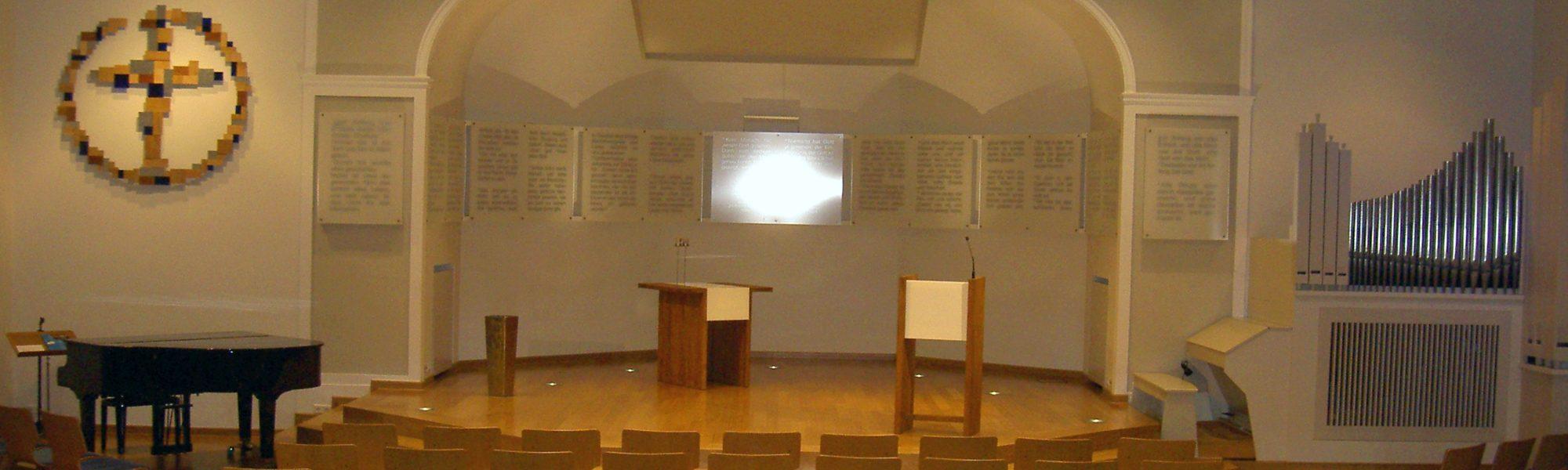 Freie evangelische Gemeinde Wuppertal Barmen - Gottesdienst