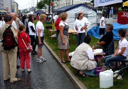 Freie evangelische Gemeinde Wuppertal Barmen - Gemeinde im Alltag Engagement in der Stadt